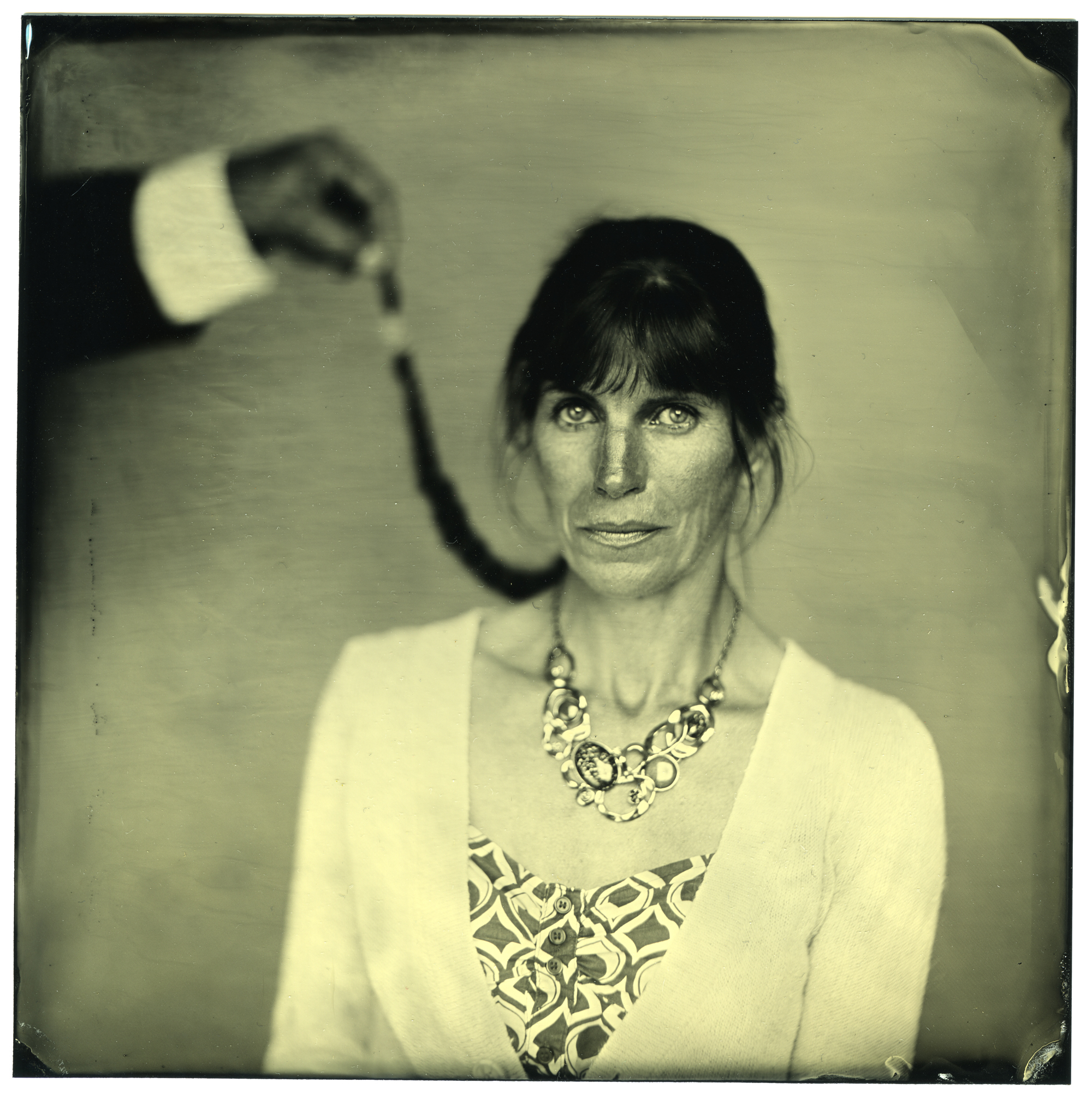 Sylvie - Collodion Photo Pierremmanuel PROUX