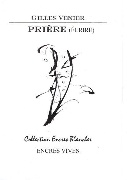 Prière (Ecrire) éd. ENCRES VIVES